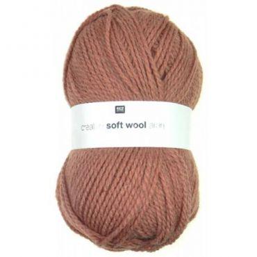 Laine soft wool aran vieux rose