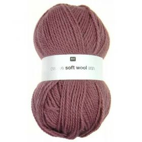 Laine soft wool rose