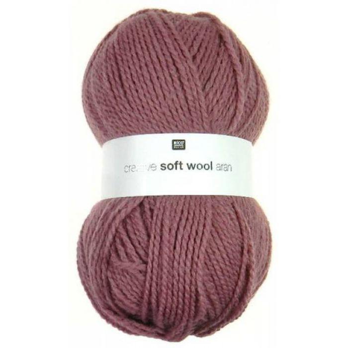 Laine soft wool rose