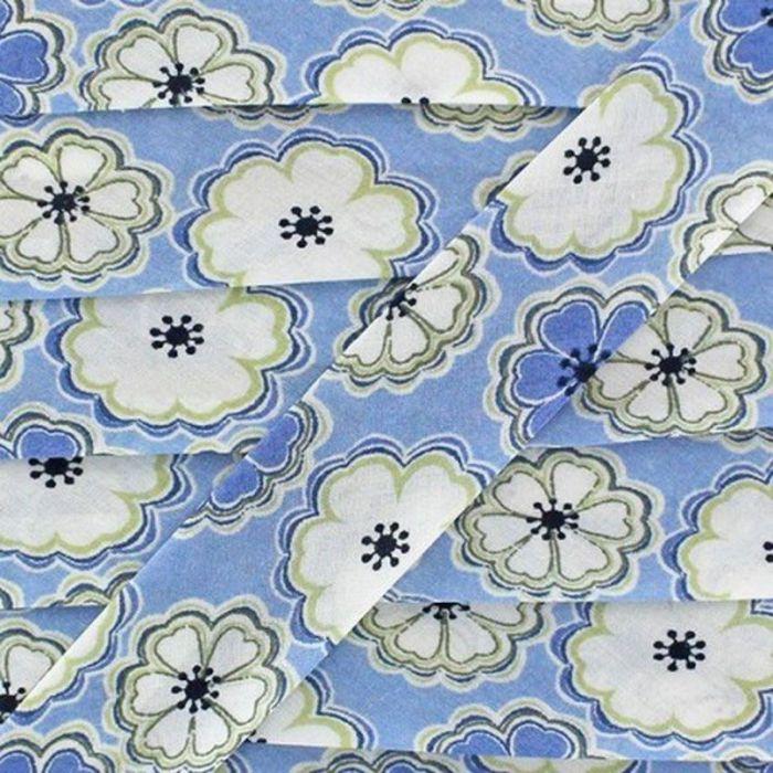 Biais Liberty Toria A Bleu