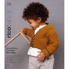 Livre tricot Rico baby 015