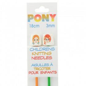Aiguilles a tricoter enfants 3mm