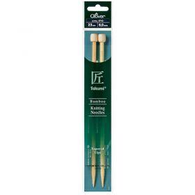 Aiguille bambou 23cm 6mm
