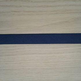 Biais uni bleu foncé 519