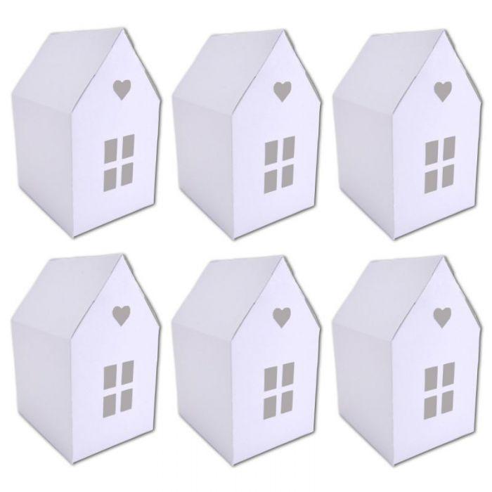 Boites cadeaux maison blanche