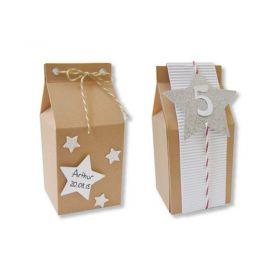 Boites cadeaux brique de lait