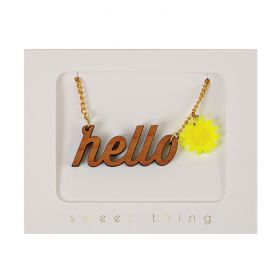 Collier hello sunshine