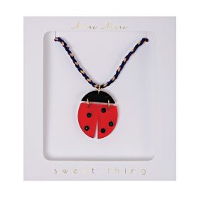 Collier coccinelle