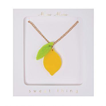 Collier citron
