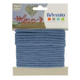 Fil tricotin bleu foncé