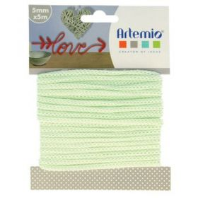 Fil tricotin vert d'eau