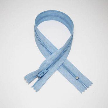 Fermeture Z51 35 cm bleu ciel