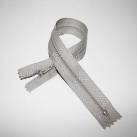 Fermeture Z51 35cm grise