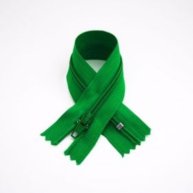 Fermeture Z51 35 cm vert sapin