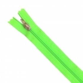 Fermeture Z51 35cm vert fluo