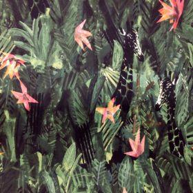 Tissu coton jungle la maison victor