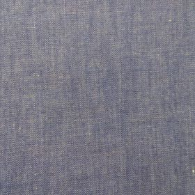 Tissu chambray denim foncé