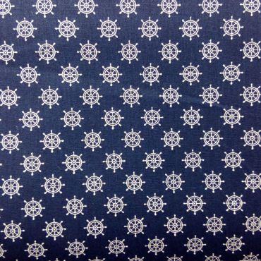 Tissu coton gouvernail