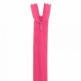 Fermeture invisible 22cm fuschia col:822