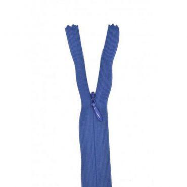 Fermeture invisible 22cm marine col:550