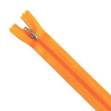 Fermeture 35cm orange fluo col:131