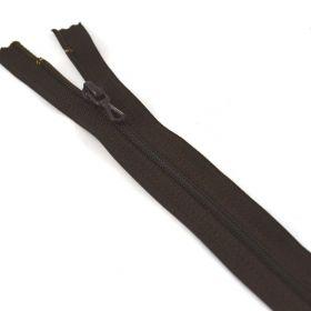 Fermeture 35cm marron col:989