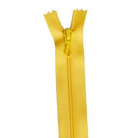 Fermeture 35cm jaune col:118