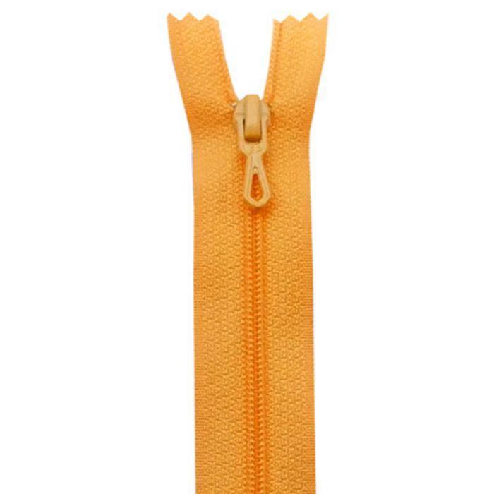Fermeture 35cm orange col:649