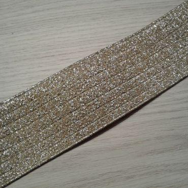 Élastique doré 60mm