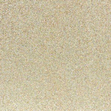 Tissu pailleté or clair
