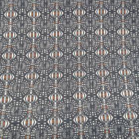 Voile polycoton motifs géométriques