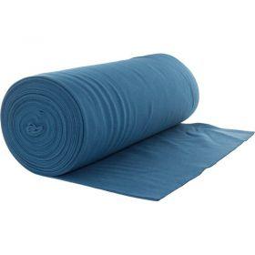 Bord côte jersey tubulaire bleu