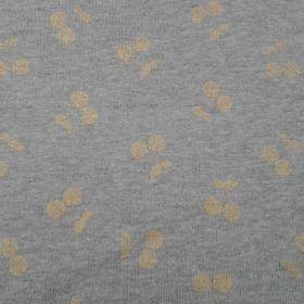 Sweat cherries gold fond gris