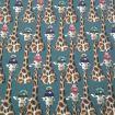 Tissu jersey girafe