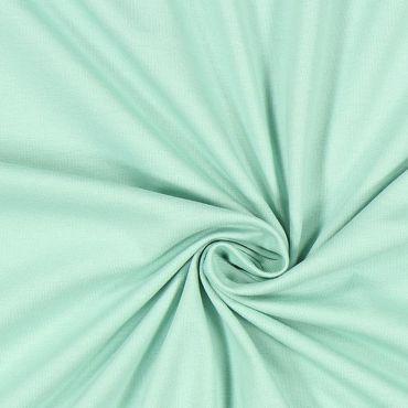 Tissu jersey uni vert d'eau