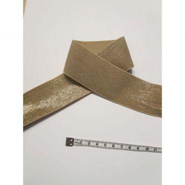 Élastique 4cm or