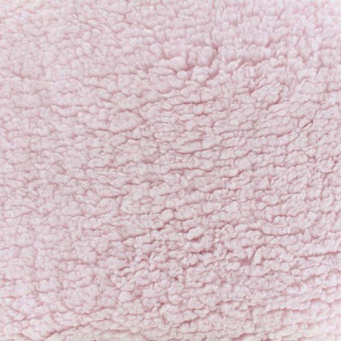 Tissu sherpa rose
