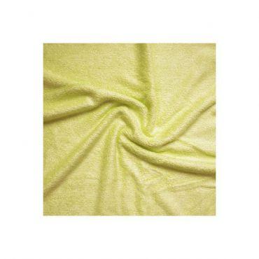 Tissu en éponge de bambou jaune papaye 90%bambou 10pes 350g/m2