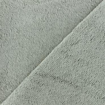 Tissu en éponge de bambou gris taupe 90%bambou 10pes 350g/m2