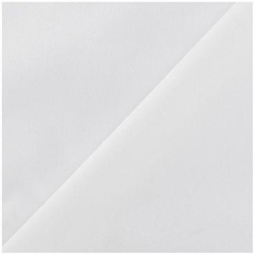 Tissu éponge et enduit blanc