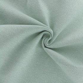 Tissu polycoton enduit vert amande