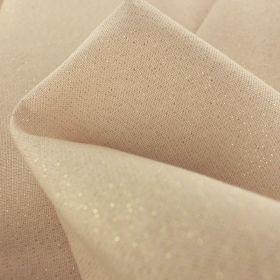 75%coton25%poly enduit 155cm nude