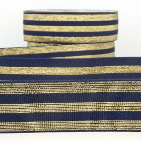 Elastique stripe metal marine