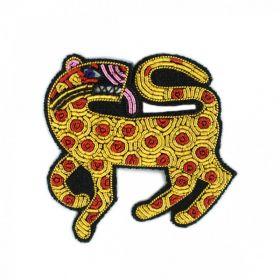 Broche léopard Macon et Lesquoy