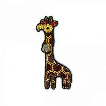 Broche girafe Macon et Lesquoy