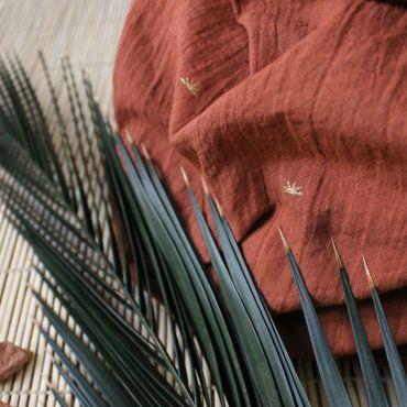 Tissu sunset chestnut Atelier Brunette