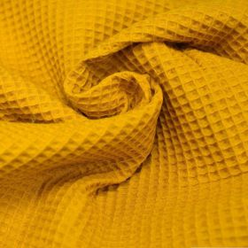Nid d'abeille moutarde