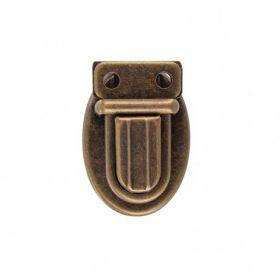 Clip cartable petit modele bronze
