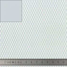Tissu Filet Mesh fabric gris 137cm