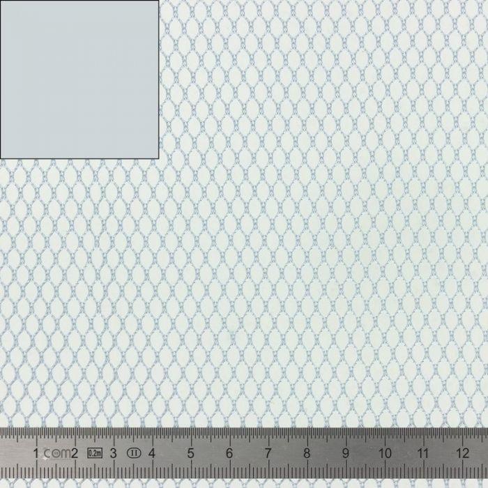Tissu Filet Mesh fabric gris 137cm